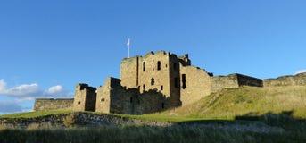 Tynemouth城堡,警卫室 免版税库存图片