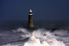 tynemouth пристани Стоковая Фотография RF