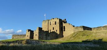 Tynemouth Castle, το gatehouse Στοκ εικόνα με δικαίωμα ελεύθερης χρήσης