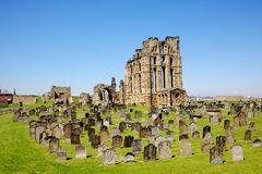 Tynemouth Castle and Priory Royalty Free Stock Image