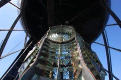 Tynemouth mola latarni morskiej wnętrze Zdjęcia Royalty Free