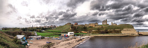 Tynemouth Panorama Stock Image