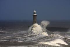 Tynemouth Pier Stock Image