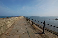 Tynemouth pier Royalty Free Stock Photography