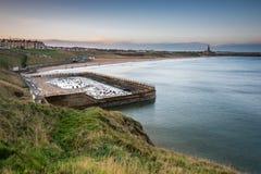 Tynemouth Plenerowy Pływacki basen fotografia stock