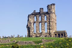 Tynemouth Priory Royalty Free Stock Photography