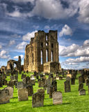Tynemouth Priory Lizenzfreies Stockfoto