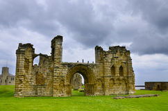 Tynemouth Priory and Castle Royalty Free Stock Photo