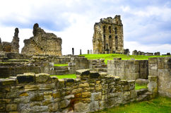 Tynemouth Priory and Castle. Ruins of Tynemouth Priory and Castle in England Royalty Free Stock Photography