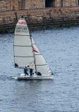 Tynemouth Sailing Club Members. Stock Image