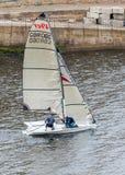 Tynemouth Sailing Club Members. Stock Photo