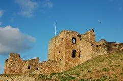 Tynemouth-Schloss Lizenzfreies Stockfoto