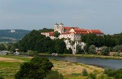Tyniec kloster Fotografering för Bildbyråer