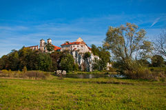 Tyniec Monasterio Stock Photo
