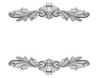 Tynków elementy dla ramy Obraz Royalty Free