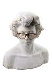 Tynk głowa z szkłami Zdjęcie Royalty Free