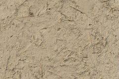 Tynk glina i słoma Obraz Stock