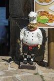 Tynk postaci szef kuchni Zdjęcia Stock