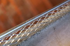 Tynkowy metalu koralik Zdjęcia Royalty Free