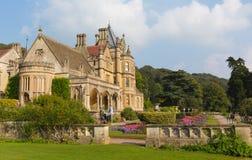 Tyntesfield-Haus nahe Nord-Somerset England BRITISCHER viktorianischer Villa Bristols, die schöne Blumengärten kennzeichnet Stockfoto