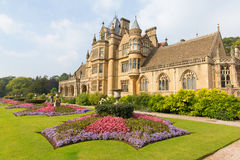 Tyntesfield House near Bristol north Somerset England UK Victorian mansion featuring beautiful flower gardens Stock Photography