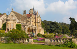 Tyntesfield House near Bristol north Somerset England UK Victorian mansion featuring beautiful flower gardens Stock Photo