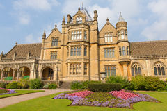 Tyntesfield House Wraxhall north Somerset England UK a tourist attraction featuring beautiful flower gardens Victorian Gothic Stock Photo