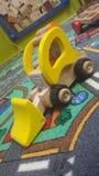 Tyo play carpet children Royalty Free Stock Photo