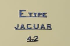 Typ 4.2 des Jaguars E Stockfotos
