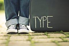 typ Royaltyfri Foto