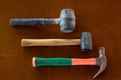 Typ av hammaren Arkivbild
