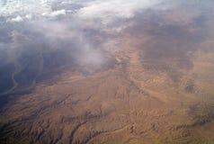 Typ av öknen från luft, Royaltyfri Fotografi