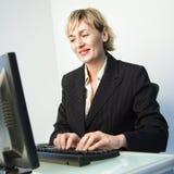 typ bizneswomanu Zdjęcie Royalty Free