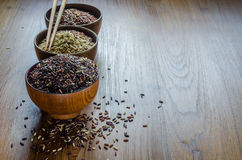 typ brown ryż zdjęcia royalty free