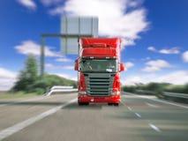 Typ d'Européen de camion Image stock