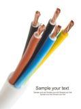 typ för europeisk ström för kabel 220v elektrisk royaltyfria bilder
