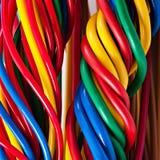 typ för europeisk ström för kabel 220v elektrisk Arkivfoto