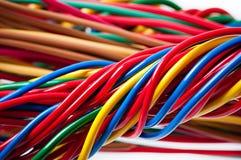 typ för europeisk ström för kabel 220v elektrisk Royaltyfria Foton