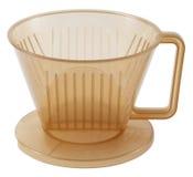 Typ Kaffee Dripper mit drei Löchern Lizenzfreies Stockbild