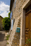 Typcial french house with mailbox Royalty Free Stock Photos
