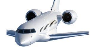 Type à extrémité élevé d'avion à réaction d'affaires - 2 Images stock