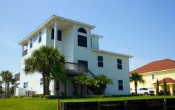 Type à la maison côtier en Floride Image libre de droits