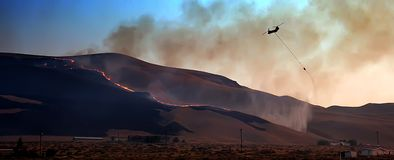 Type 1 Wildfire Helicopter Stock Photos