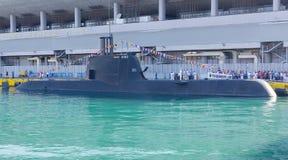 Type 214 submarine S-120  Stock Image