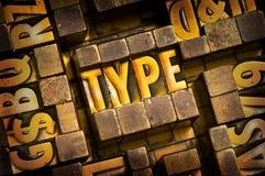 Type Royalty Free Stock Photo
