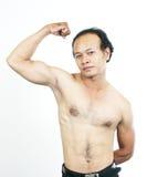 Type 9 de muscle Photographie stock libre de droits