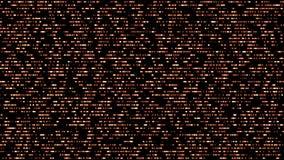 Type abstrait de grille fond sans couture de mouvement de rougeoyer débordant, points de clignotement de scintillement Contexte d illustration libre de droits