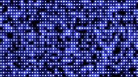 Type abstrait de grille fond sans couture de mouvement de rougeoyer, points de clignotement de scintillement Contexte de boucle d illustration libre de droits