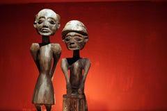 Type africain en rouge Image libre de droits