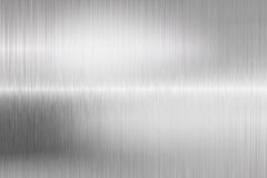 Type brushed metal structure closeup Royalty Free Stock Photography